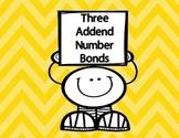 Three Addend Number Bonds