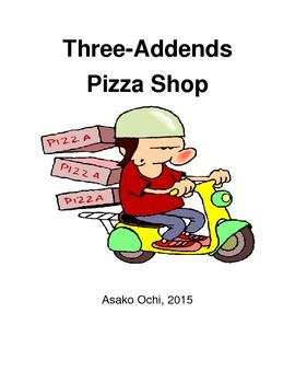 Three Addend Pizza Topping