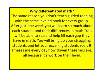 Three Addend Word Problem Unit Differentiated/ Formative Based