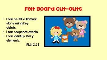 Three Bears Flannel Board Set