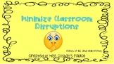Three B's for Minimizing Disruptions