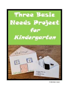 Three Basic Needs Project for Kindergarten