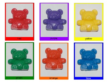 Three Bear Family Sorting, Graphing, and Patterns Math Center