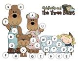 Three Bears  Capital Alphabet Mat
