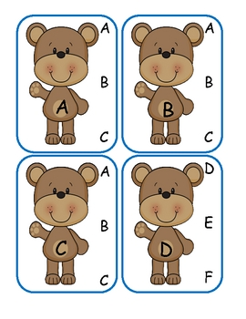Three Bears Capital to Capital Clip Cards