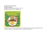 Three Bears Curriculum Web, Lesson Plan, Interest Centers