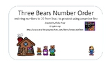 Three Bears Number Order to 20