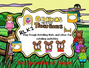 Three Bears Playdough Retelling Mats and other activities