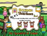 Three Bears Playdough Retelling Mats and other activities