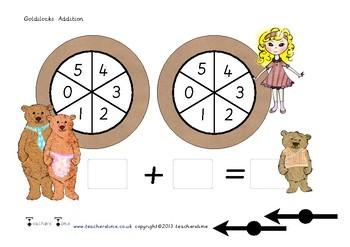 Three Bears Spin Addition