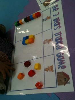 Three Bears Trading Game