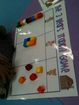 Three Bears Trading Game