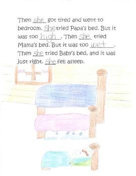 Three Bears Writing Twisted Version