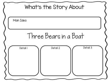 Three Bears in a Boat by David Soman