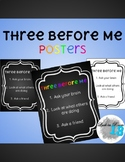 Three Before Me Posters