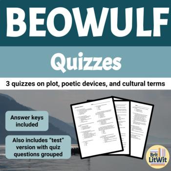 Beowulf Quiz Bundle