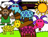 Three Billy Goats Clip Art Pack