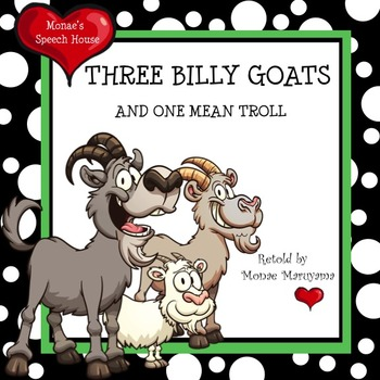 Three Billy Goats Fairy Tales Early Reader Literacy Circle