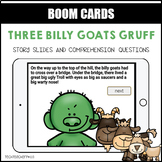 Three Billy Goats Gruff BOOM LEARNING CARDS Distance Learning