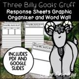 Three Billy Goats Gruff Book Study Graphic Organizers