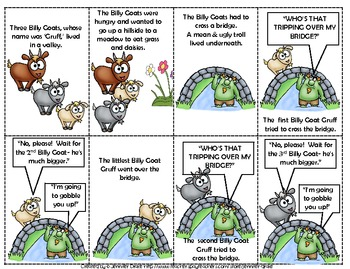 Superb image regarding three billy goats gruff story printable