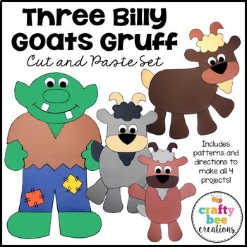 Three Billy Goats Gruff Craft Bundle