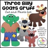 Three Billy Goats Gruff Craft Bundle | Fairy Tale Craft Activities | Retelling