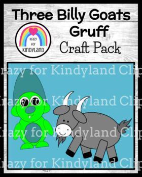 Three Billy Goats Gruff Craft Pack