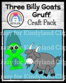 Three Billy Goats Gruff Fairy Tale Activity: Puppets, Crafts for Retelling