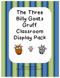 Three Billy Goats Gruff Display & Activity Pack/Teachers Aid/Homeschool Pack