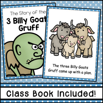 Three Billy Goats Gruff Emergent Reader