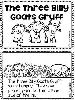 Three Billy Goats Gruff Emergent Reader