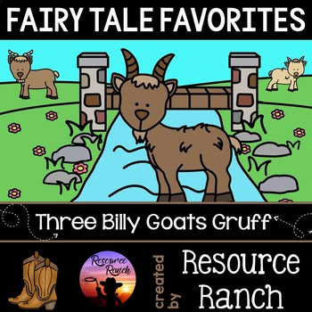 Three Billy Goats Gruff Fairy Tale Favorites Series