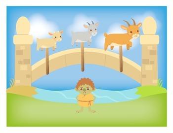 Three Billy Goats Gruff Fairy Tale - Interactive dramatic