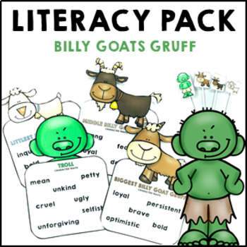 Three Billy Goats Gruff Fairy Tale Pack Reading Comprehens