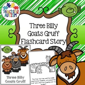 Three Billy Goats Gruff Flashcard Story