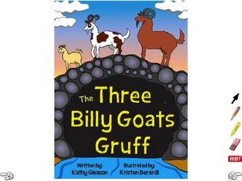 Three Billy Goats Gruff ActiveInspire Flipchart