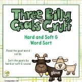 Three Billy Goats Gruff - Hard & Soft G Word Sort