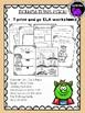 Three Billy Goats Gruff Literacy Activity Pack for Kindergarten and First Grade