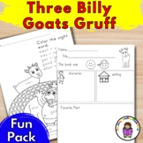 Three Billy Goats Gruff Literacy Fun Pack