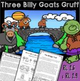 Three Billy Goats Gruff - Different Versions RL 2.9 & Poin