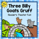 Three Billy Goats Gruff - Reader's Theater and Puppet Fun!