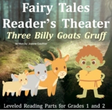 Three Billy Goats Gruff: Reader's Theater for Grades 1 and 2