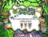 Three Billy Goats Gruff Retelling Playdough Mats and other Fun!