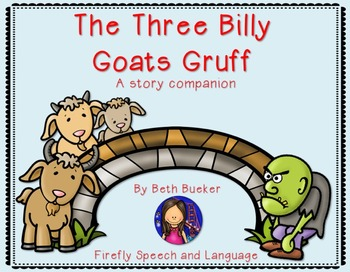 #June17SLPMustHave Three Billy Goats Gruff Story Companion