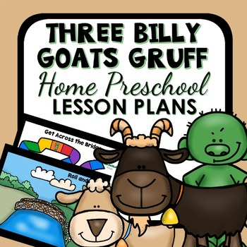 Three Billy Goats Gruff Theme Home Preschool Lesson Plans-Billy Goats Activities