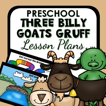 Three Billy Goats Gruff Theme Preschool Lesson Plans - 3 Billy Goats Activities
