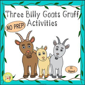 Three Billy Goats Gruff Activities by Teaching Tykes | TpT
