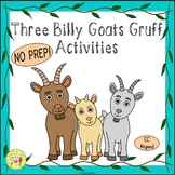 Three Billy Goats Gruff Fairy Tales Worksheets Activities