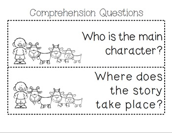 Three Billy Goats Gruff Unit~ Includes Graphic Organizers & Much More!